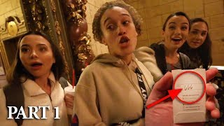 Staying at MOST HAUNTED HOTEL in LOS ANGELES | PART 1 (GIRLS EDITION)