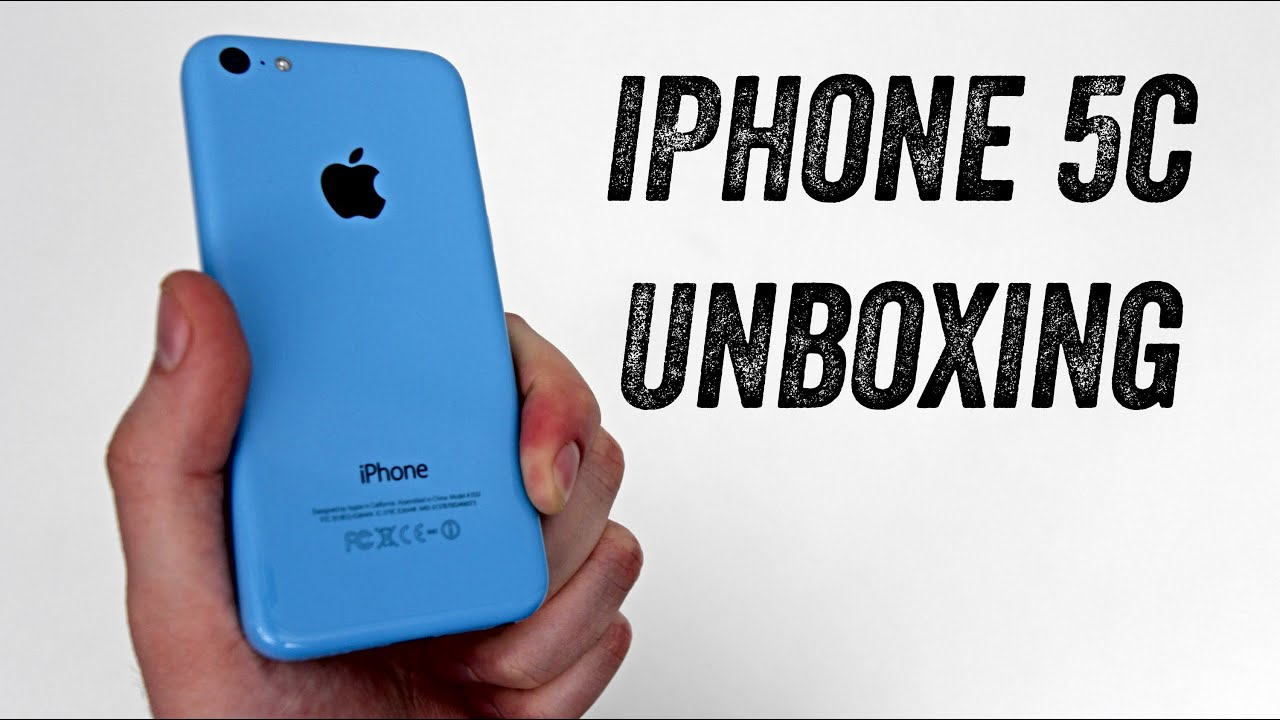 iPhone 5c Unboxing (BLUE iPhone 5c Launch Day Unboxing) thumbnail