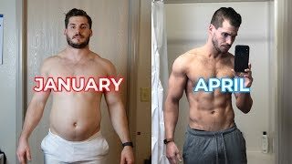 My 3 Month Body Transformation Time-lapse (202lbs-160lbs)