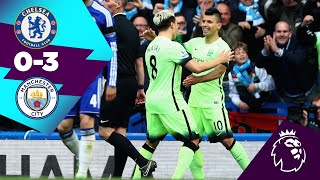 CHELSEA 0-3 MAN CITY | AGUERO ⚽️⚽️⚽️ | ON THIS DAY 16th April 2016 |