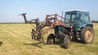 Трактористы сенокос