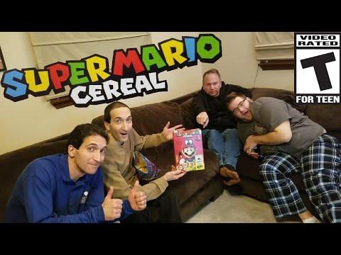 Super Mario Cereal, lets-a-go