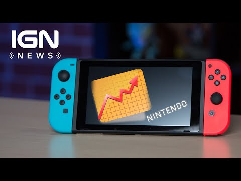 Nintendo Market Value Has Climbed Above Sony - IGN News