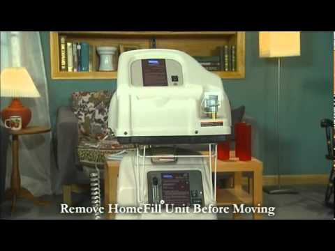Invacare Homefill-Patient training Instruction on use of the Invacare Homefill System