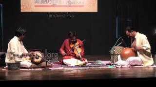 Thillana violin performance by A. Jayadevan