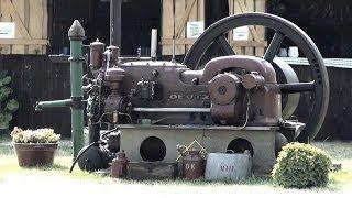 Deutz Standmotor - Start mit Luftdruck
