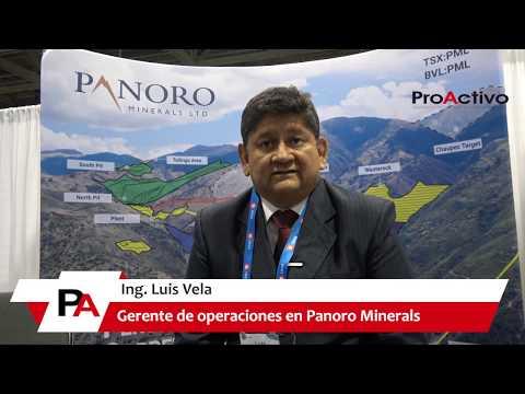 PDAC 2019: Entrevista al Ing. Luis Vela, Gerente de operaciones en Panoro Minerals