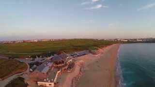 Fistral Beach Newquay - Cornwall uk