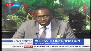 Access to Information Act 2016: CAJ to finalise on the act by end of year