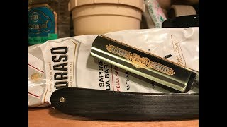 Old School Shave with the Dovo Prima Silver Steel - 20th December 2017
