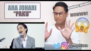 Ara Johari - Paku [Official Music Video] | REACTION