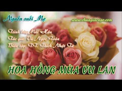 Hoa hồng mùa Vu Lan