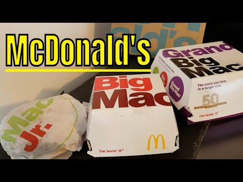 McDONALD's Mac Jr, Big Mac & Grand Big Mac