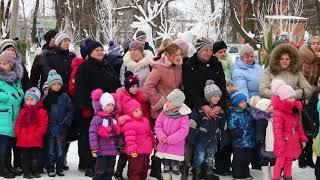 Новорічна резиденція Діда Мороза.  м.Кодима, 2017рік.