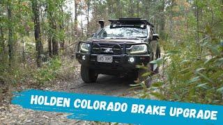 Best Brakes for Holden Colorado