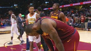 LeBron James Chokes and Doesn't Shoot Game Winner