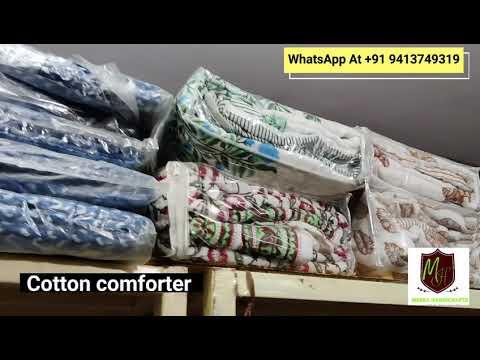 Hand Block Printed Kantha Quilts