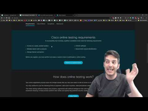 Cisco Online Testing! WHATTTT!!! What You need to know! - YouTube