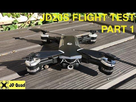 Jingdatoys JD 20S Flight Test - Courtesy of Banggood