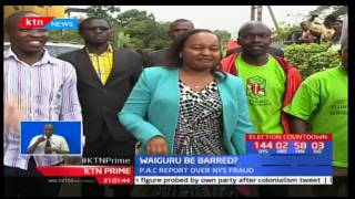 PAC proposes new investigations against Waiguru and Murkomen over misuse of office