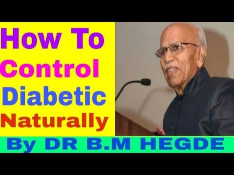bm hegde en diabetes