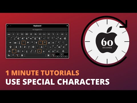 Use Emoji and Special Characters on Mac Keyboard - 1 Minute Tutorials