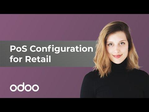 POS-Konfiguration für den Einzelhandel | odoo POS