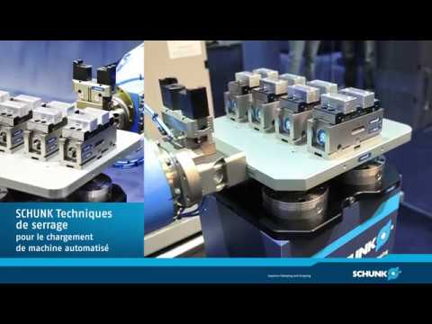 Systemy zaciskowe i chwytaki do automatycznego ładowania maszyny - zdjęcie