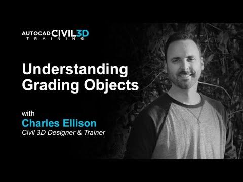 Civil 3D Training LIVE   Editing Gradings - Weekend Practice ...