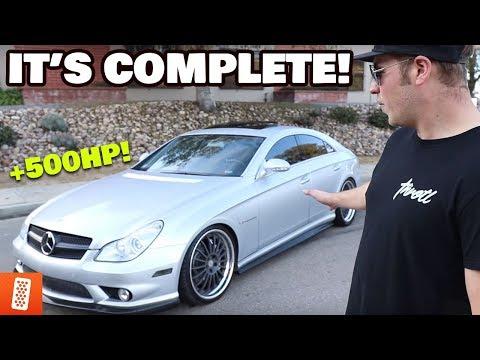 +500HP MERCEDES CLS55 AMG PROJECT IS COMPLETE!!! CARBON FIBER UPGRADES