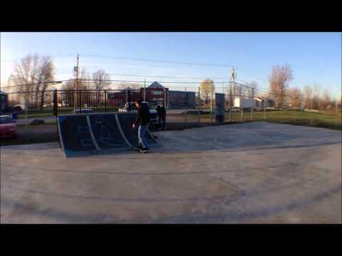 k town skatepark session
