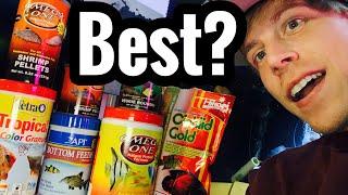 Best Fish Food? Quality Brands? Aquarium Fish Tanks