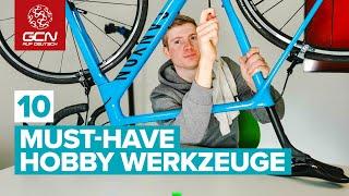 10 Dinge, die in keiner Radwerkstatt fehlen dürfen | Must-Have Werkzeuge fürs Fahrrad
