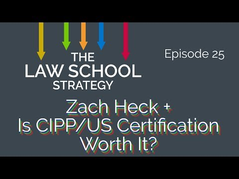 Privacy Law with Zack Heck + Is CIPP/US Certification Worth It ...