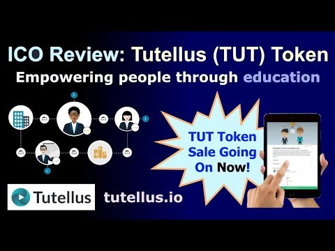 ICO Review: Tutellus TUT Token - Empowering People through Education - On Sale Now!