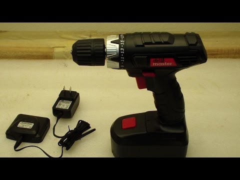 Harbor Freight Cordless Drill Review