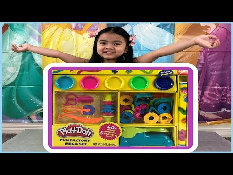 Sky's Play Doh Fun Factory Mega Set Unboxing