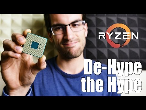 Ryzen 5 Will Not Outperform Intel's i5 Lineup in Gaming