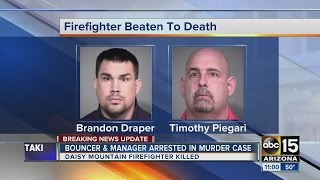 PD: Man arrested in Daisy Mountain firefighter death