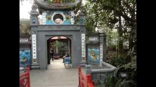 preview picture of video 'Templo Ngoc Son en Hanoi'