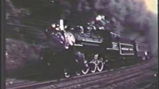 THE ONLY VIDEO ON YOUTUBE, of ex-FEC #148,  4-6-2 on the ERIE mainline, 1975