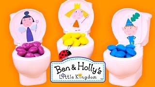 LOS COLORES Con Ben y Holly de colores | Aprender