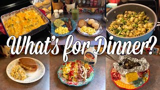 What's for Dinner?| Easy Family Meal Ideas| May 6-12, 2019
