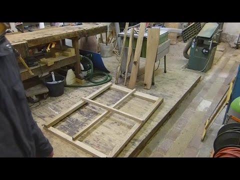 Sprosssenfenster selber bauen, Teil 1 zuschneiden