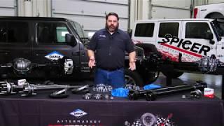 Jeep Wrangler JL Parts Overview | Spicer Garage