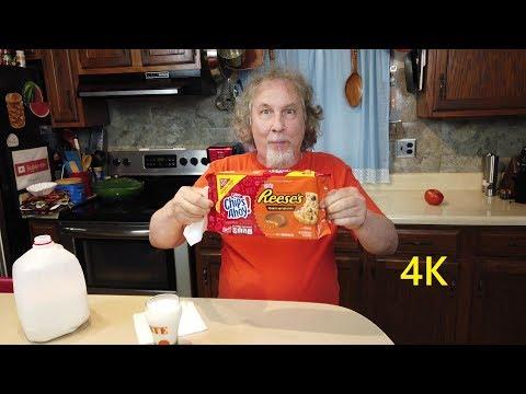 Tasting Reese's Chips Ahoy Cookies