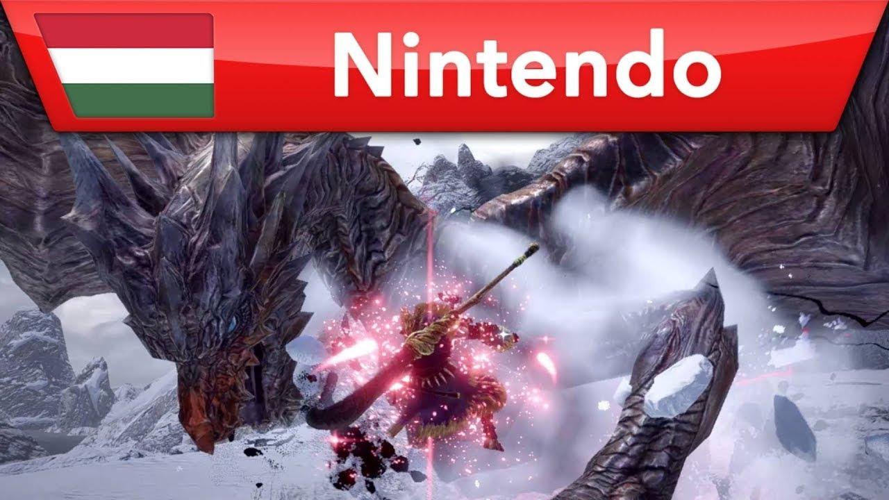 Monster Hunter Rise – Ingyenes frissítés   Nintendo Switch