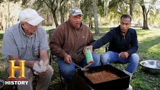 Swamp People: Creole Cooking with the Edgars (S7, E4) | History
