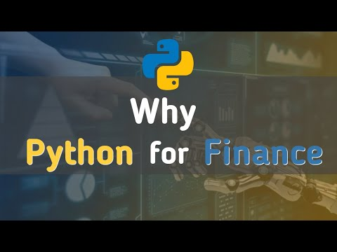 Why Python for Finance | Python for Beginners