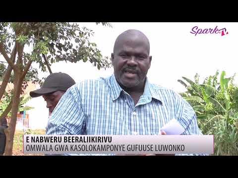 Omwala gwa kasolokamponye e Nabweru mu Nansana gutabudde abaayo